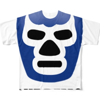 BLUE DEMON / ブルーデモン Full graphic T-shirts