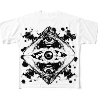 SDIEXVIL(W) Full graphic T-shirts