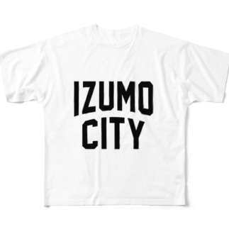 出雲市 IZUMO CITY Full graphic T-shirts