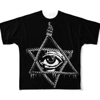 STARCIDE (B) Full graphic T-shirts
