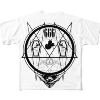 DVYCIRCLE(W) Full graphic T-shirts
