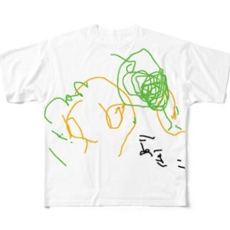 aki-himawari Full graphic T-shirts
