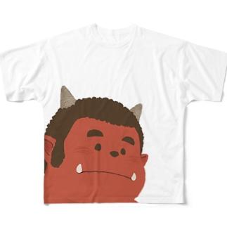 ガーくん Full graphic T-shirts
