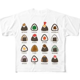 どれにしようかな Full graphic T-shirts