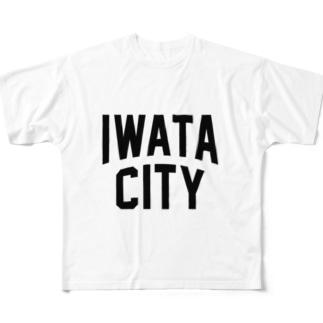 磐田市 IWATA CITY Full graphic T-shirts