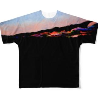 Black_01 Full graphic T-shirts