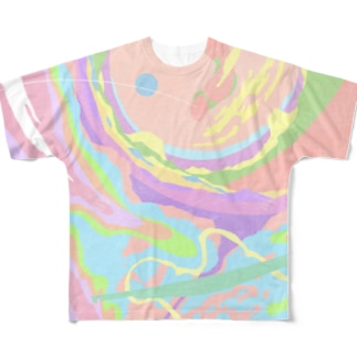 Chaotic _01_02 Full graphic T-shirts