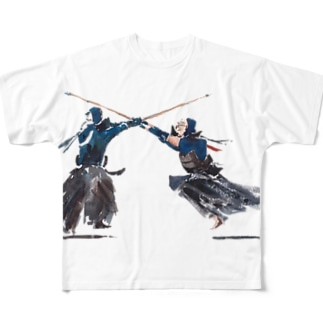 Life with Kendo (aimen) Full graphic T-shirts