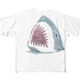 さめ Full graphic T-shirts