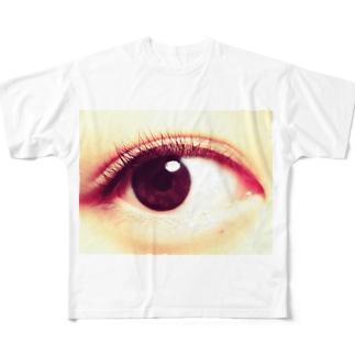 小林さんの右目 Full graphic T-shirts