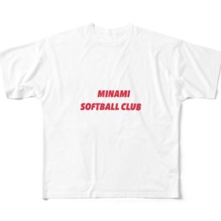 MINAMI Full graphic T-shirts