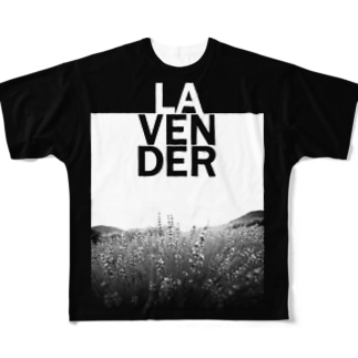 LAVENDER Full graphic T-shirts