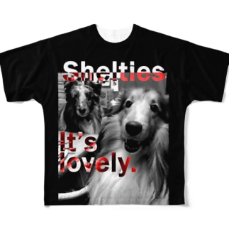 Shelties It's lovely. Full graphic T-shirts
