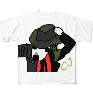 CJ Full graphic T-shirts