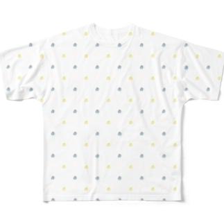 モノグラム斜め Full graphic T-shirts