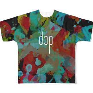 dcpオフィシャル Full graphic T-shirts