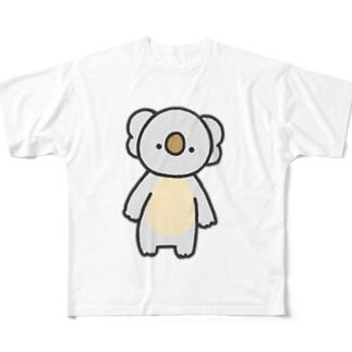 こあら Full graphic T-shirts