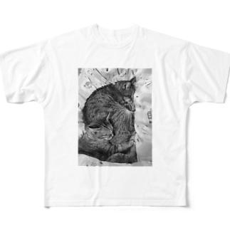 サンチコプリン Full graphic T-shirts