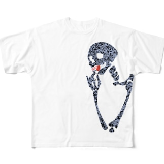ドクロガール(1) Full graphic T-shirts