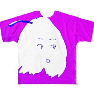 handy murasaki mop kun Full graphic T-shirts