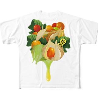 【forseasons】フィサリス Full Graphic T-Shirt