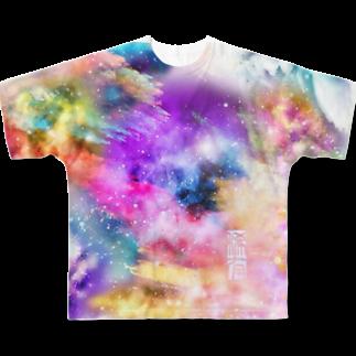 稀有(Good man does nothing.)の『ゆめ』 Full graphic T-shirts