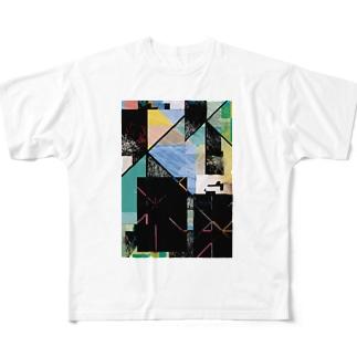 trash box 01 Full graphic T-shirts