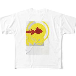 trash box 04 Full graphic T-shirts