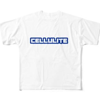 マエニススムのセルライトとは? Full graphic T-shirts