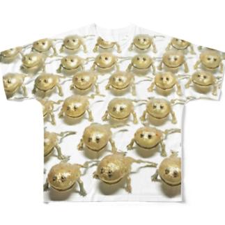 NINA Close Distance Budgetgaeru Full graphic T-shirts