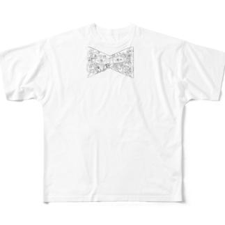 カオスなリボン Full graphic T-shirts