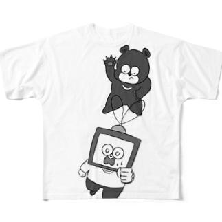追いかけられてます Full graphic T-shirts