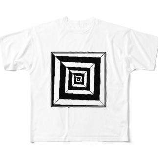 CONFUSED Full graphic T-shirts