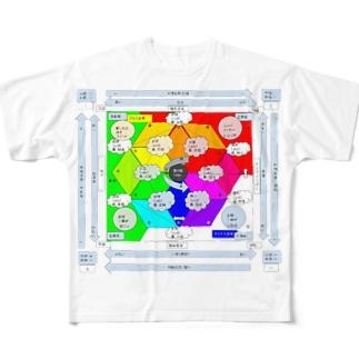 もしかしたらあなたも一億円プレイヤーになるかもしれない感情グラフ Full graphic T-shirts