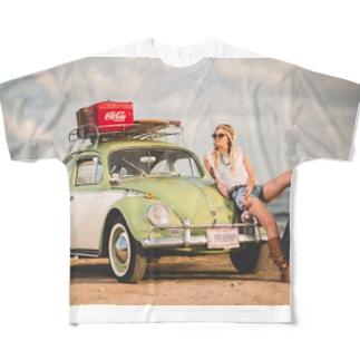 AkasakaBase - アカサカベースのBC.Girl Full graphic T-shirts