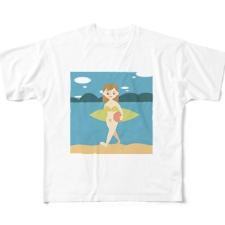 夏の思い出 Full graphic T-shirts