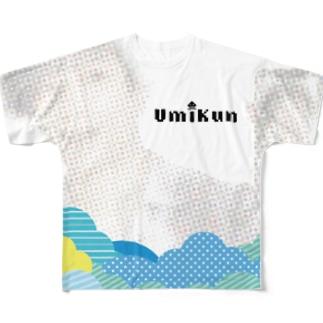 UminpoのフルグラフィックTシャツ Full graphic T-shirts