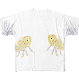 昆虫 Full graphic T-shirts