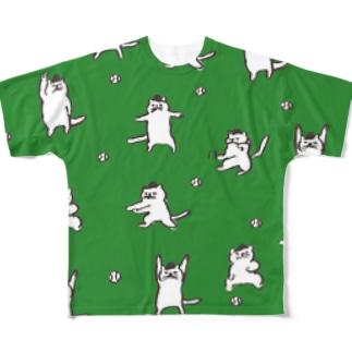 猫の審判 Full graphic T-shirts