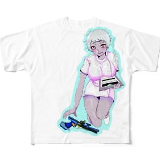 町田APS同好会  みらい Full graphic T-shirts