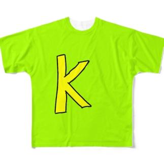 ケートィーグッズ Full graphic T-shirts