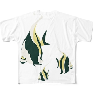 ツノダシ Full graphic T-shirts