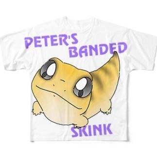 ピーターズバンデッドスキンク Full graphic T-shirts