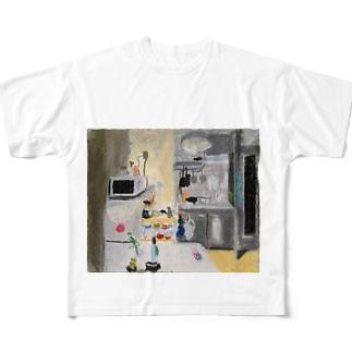 jota_ikrのDK Full graphic T-shirts