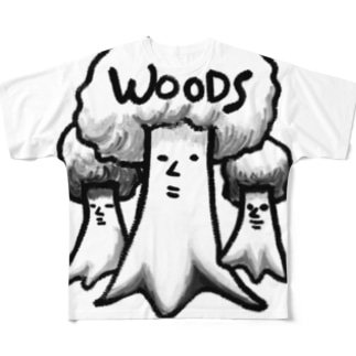 WOODS Full graphic T-shirts