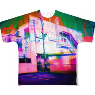 並行世界 Full graphic T-shirts
