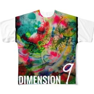 人魚と海。 Full graphic T-shirts