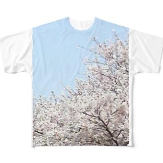 桜 Full Graphic T-Shirt