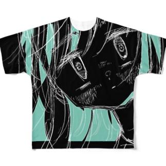 慟哭 Full graphic T-shirts