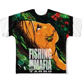 マフィアとルアー Full graphic T-shirts